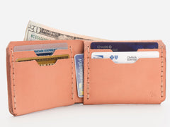 No. 398 Bi-Fold Wallet, Natural