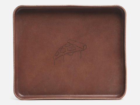 No. 471 Large Nut Brown Valet Tray Slice