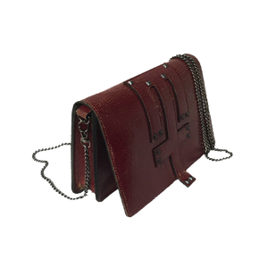 Rude Crossbody in Crimson