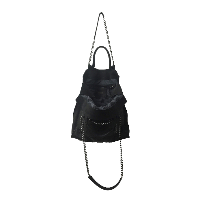 Punk Tote in Black