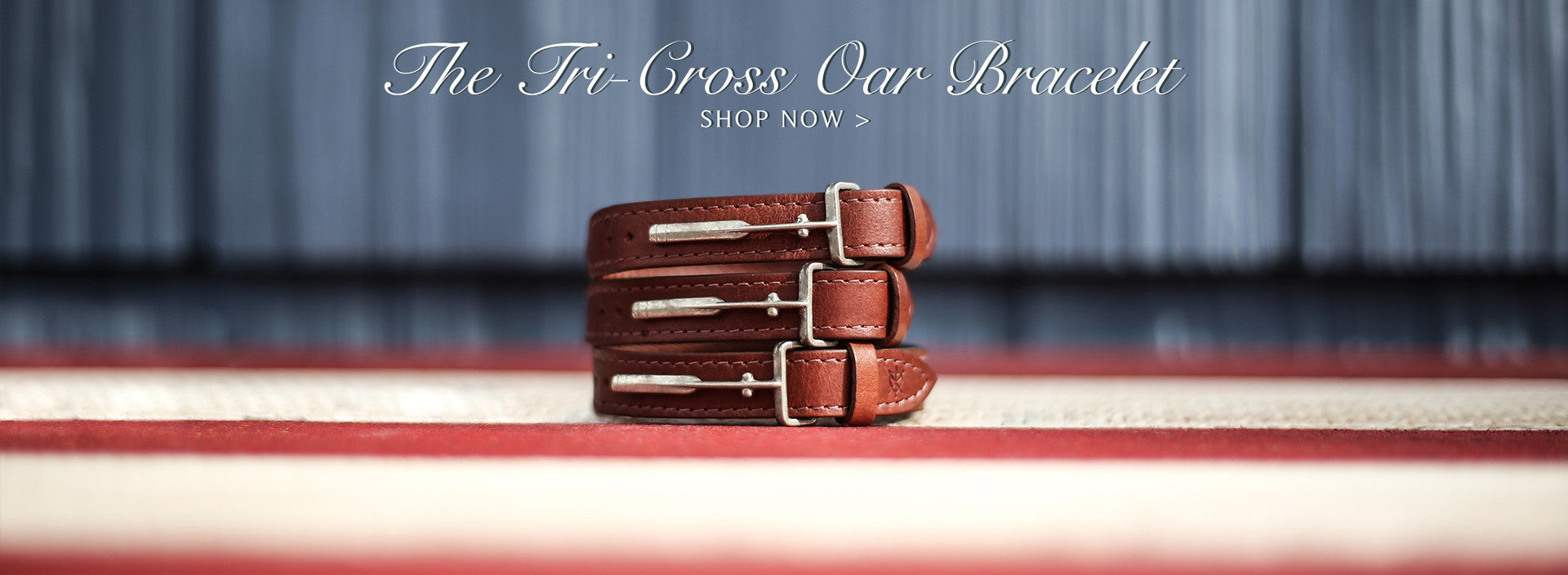 J.Riley Tri-Cross Oar Bracelet