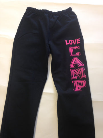 Open Bottom Sweatpant  LOVE CAMP
