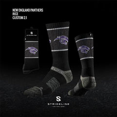 New England Panthers Socks (1 Pair)