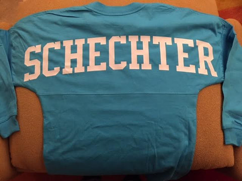 Schechter Spirit Shirt (Back of Shirt Pictured)