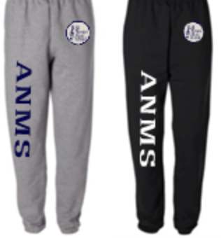 ANMS Elastic Bottom Sweatpants with Pockets