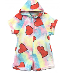 Pastel Tie Dye with Hearts