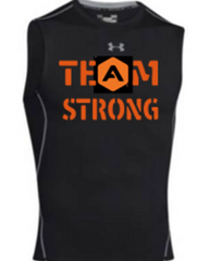 Under Armour sleeveless compression crew tank
