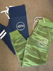 Aephi Waffle Jogger or Camo  with Circle Logo