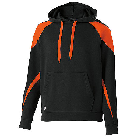 Hollaway 2 color Hoodie with logo (Name & Number on sleeve)