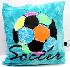 Soccer Square Pillow