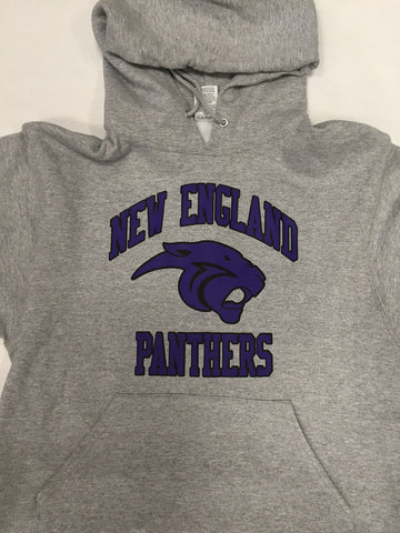 Copy of Panthers Hooded Sweatshirt (embroidered name & number)