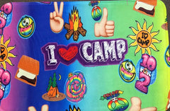 I Heart Camp Mat