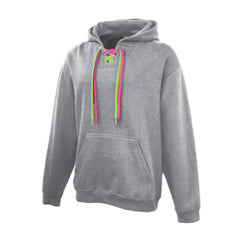 Fleece  Sweatshirt with 2 Laces