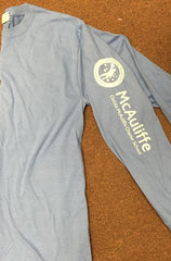 Mcauliffe Long Sleeve Tee (sleeve Logo,name on back)