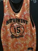 reversible printed pinnie