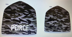 Peirce Knit Embroidered Camo Hat