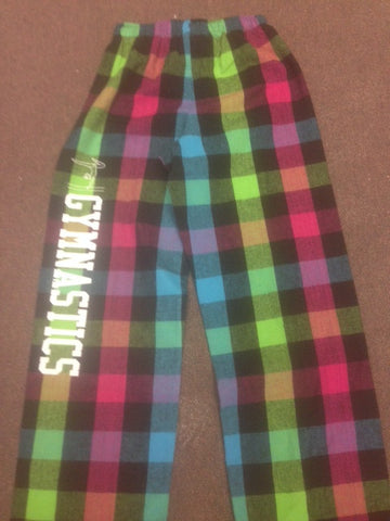 Gymnastic Flannel Pants