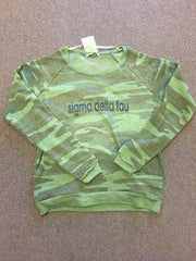 Long Sleeve Camo Shirt with Logo