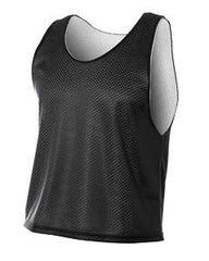 Black/White Reversible Qual Pinnie