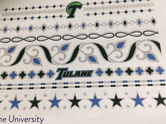 Tulane Flash Tatoos