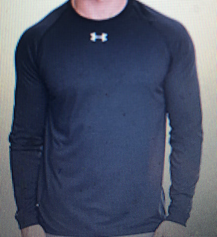 Under Armour Long Sleeve Dry Fit Shirt with B2L logo (Please include name and number in the note to seller page while checking out)