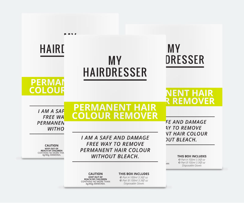 Colour Remover 3 Pack