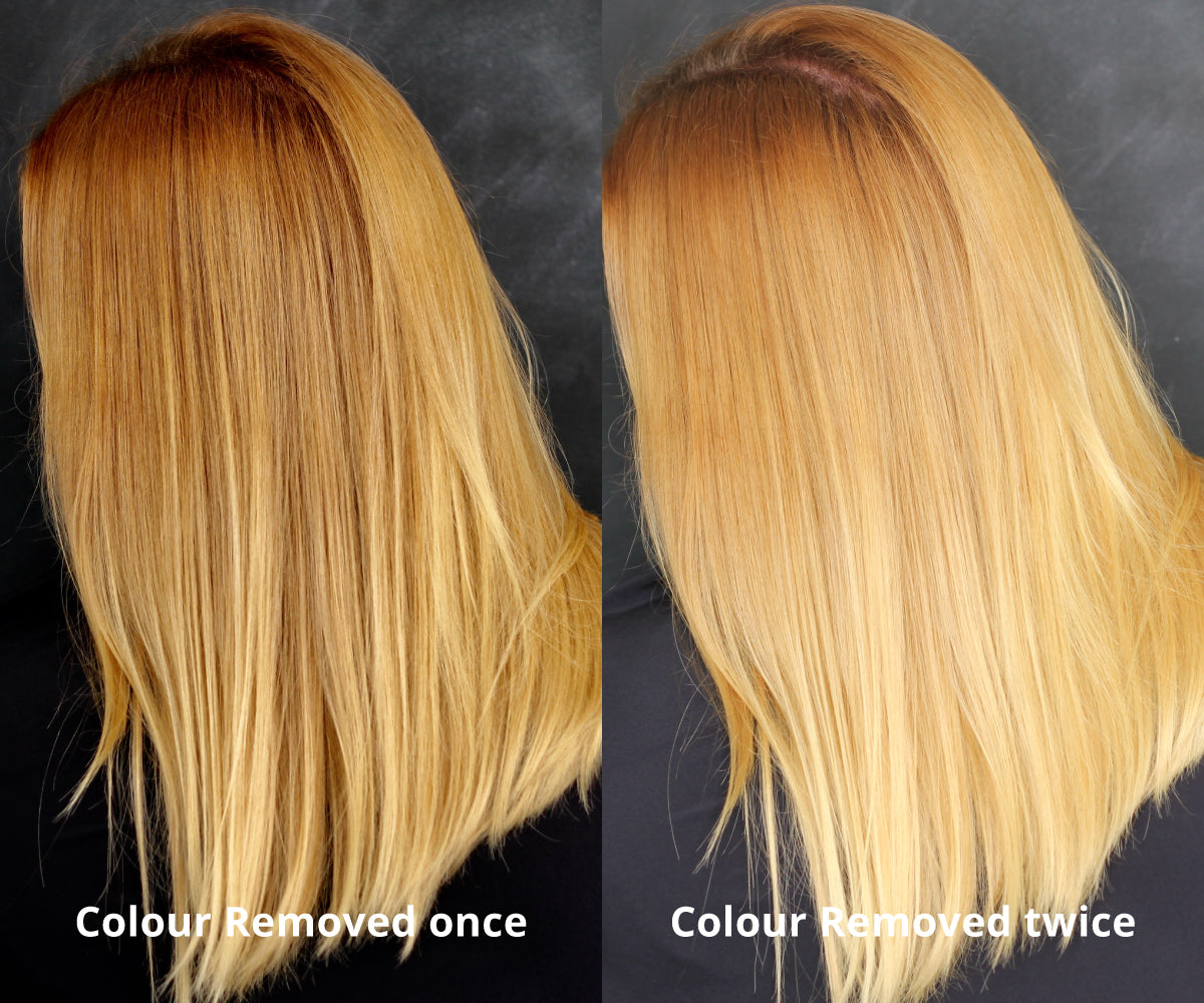 How I Went From Dark Blonde To Light Blonde Without Bleach My