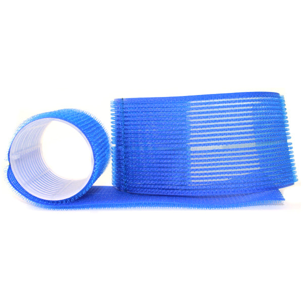12 Pack 51mm Blue Velcro Multi Curler