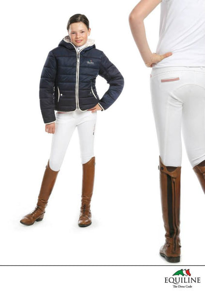Equiline Margot X-Grip Girls Size 8/9 Breeches