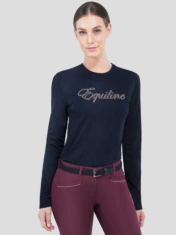 LOTUS - WOMEN'S T-SHIRT WITH LONG SLEEVES
