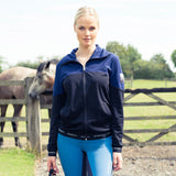 B- Vertigo Hannah Ladies Reversed Fleece Jacket