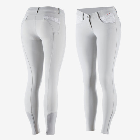 B Vertigo Chloe Women's Lace Silicone Full Seat Breeches
