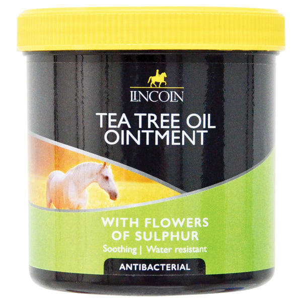 LINCOLN TEA TREE OIL OINTMENT with Flowers of Sulphur