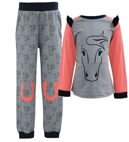 Thomas Cook Neon Pony Girls PJ's