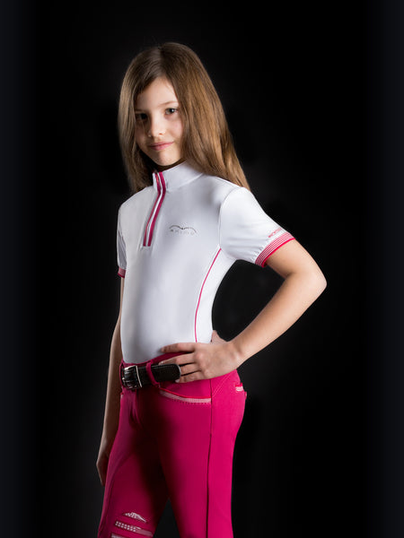 Animo Babet Girls Competition Polo Shirt Spring/Summer 15