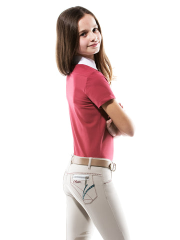 Animo Negret Girls Navy Breeches SS16