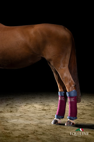 Equiline Quilted Leg Wraps D00070