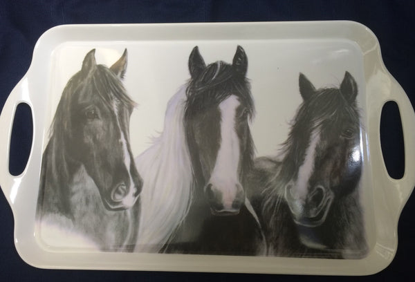 Friends Horse Themed Large Serving Tray