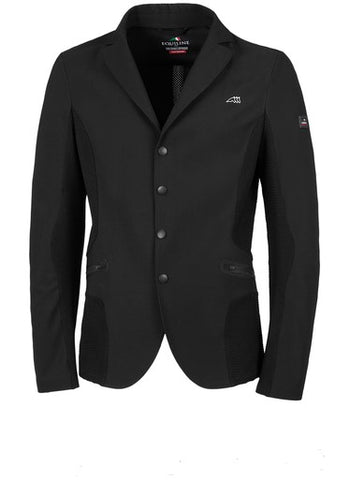 Equiline Chad Mens Black Competition Jacket