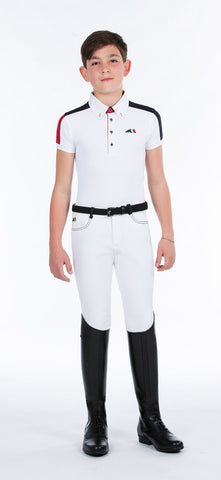 Equiline Filippo Boys Polo Competition Shirt