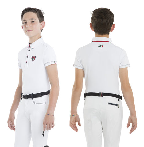 Equiline Bondy Boys Competition Polo Shirt SS16