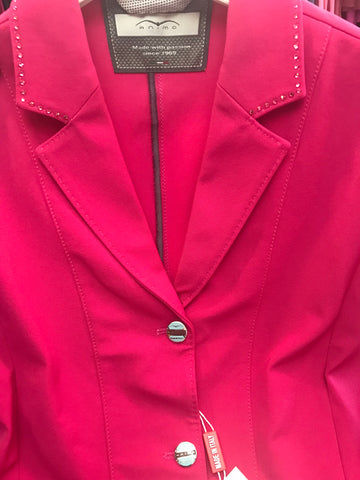 Animo Lazzari Girls Pink Competition Jacket