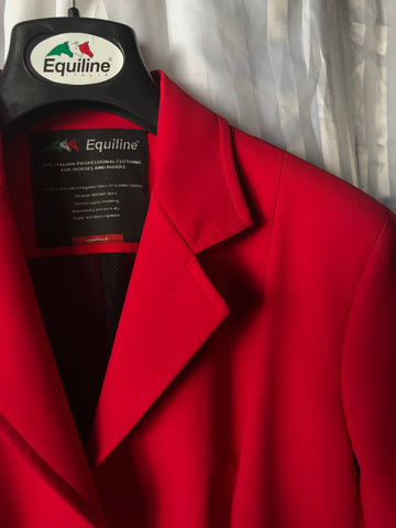 Equiline Gait X-cool Red and Grey Jacket