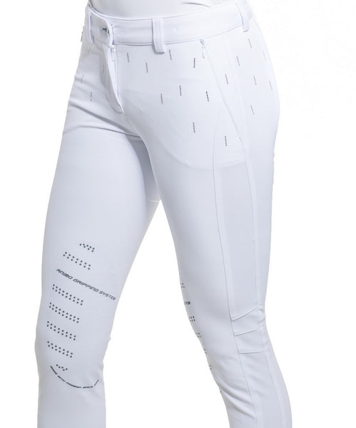 Animo Nuphar White Womens Riding Breeches
