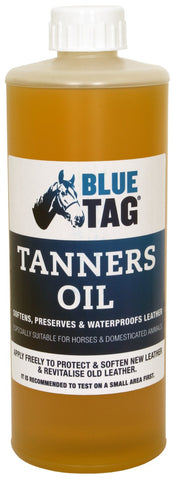 BLUE TAG TANNERS OIL