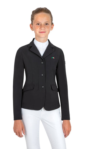Equiline CAROLINK GIRL'S Competition jacket - Navy
