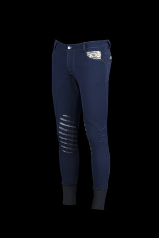 Animo Morgan Blue IT 52 Mens Breeches