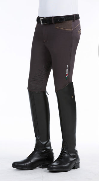 Equiline Federico Boys Full Grip Breeches