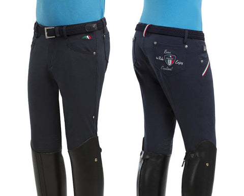 Equiline Bert Boys Knee Grip Breeches SS16