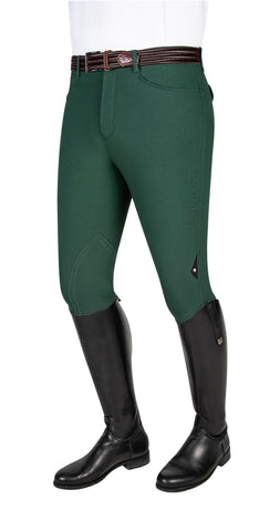 Equiline Green  Grafton with Logo Men's Breeches